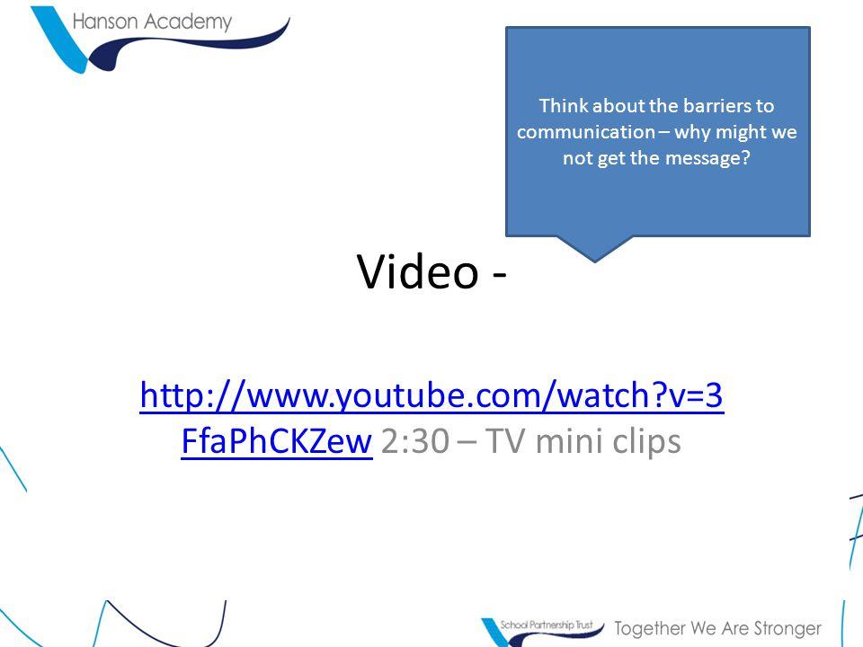 http://www.youtube.com/watch v=3FfaPhCKZew 2:30 – TV mini clips