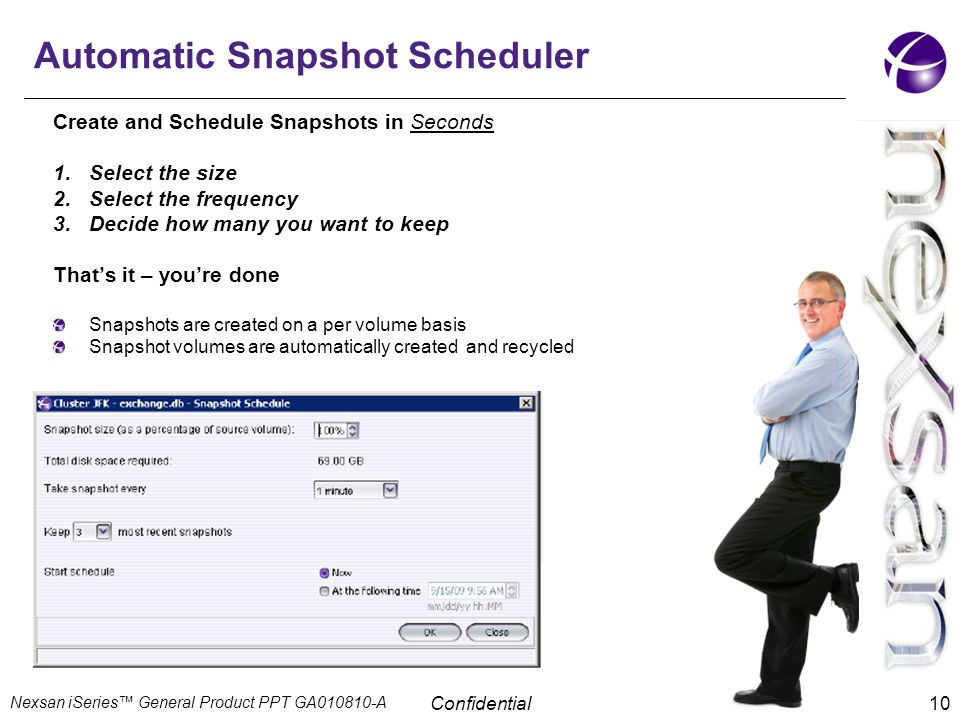 Automatic Snapshot Scheduler