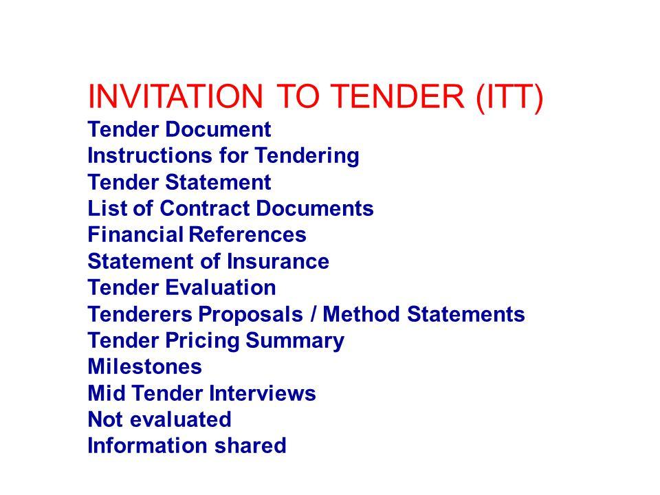 Tendering yuck ppt video online download 8 invitation to tender stopboris Gallery