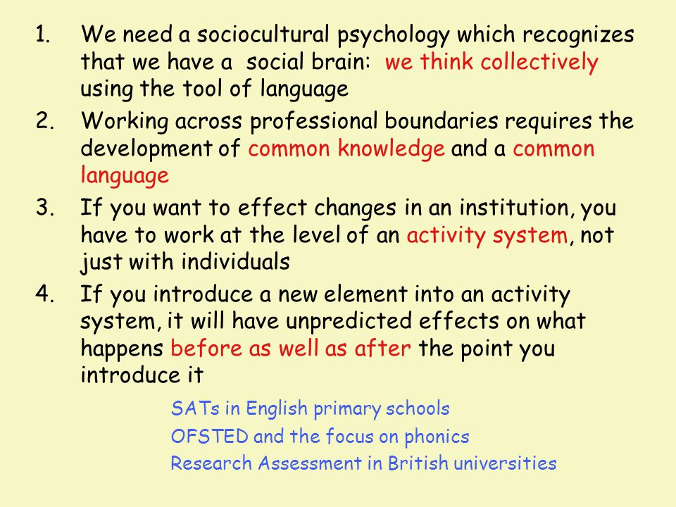 SATs in English primary schools