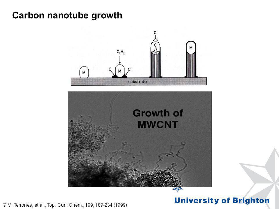 Carbon nanotube growth