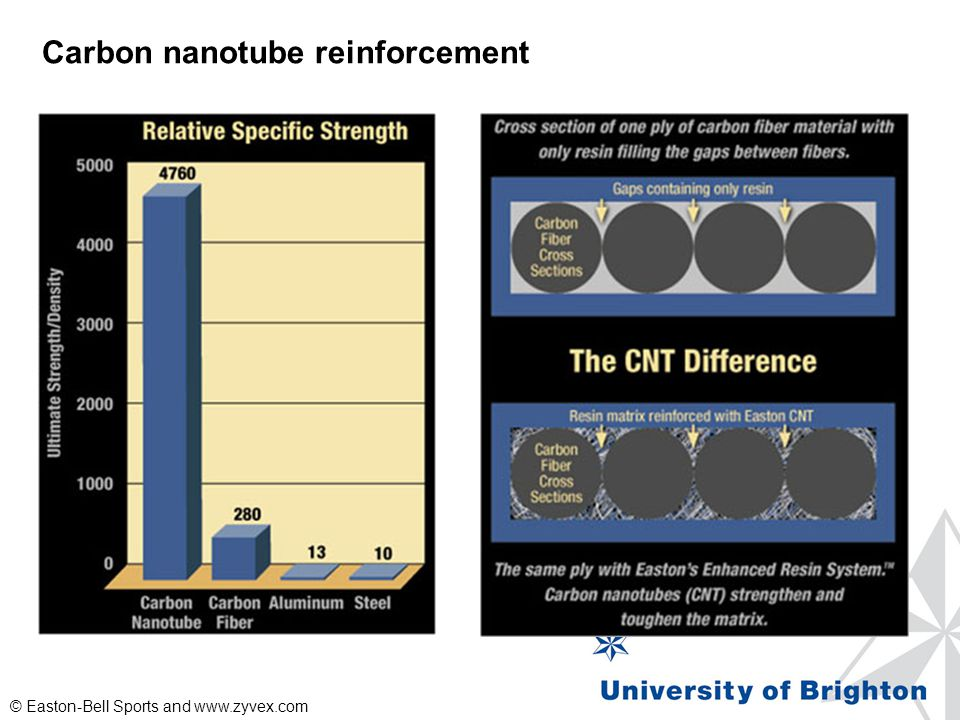 Carbon nanotube reinforcement