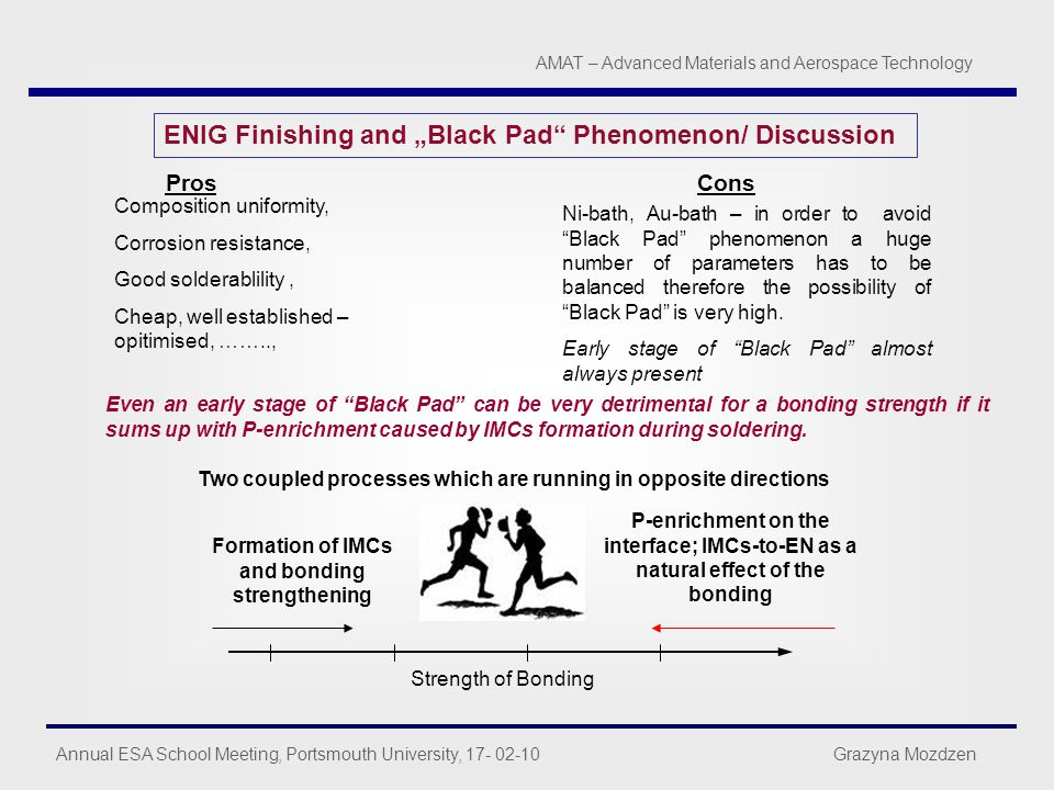 "ENIG Finishing and ""Black Pad Phenomenon/ Discussion"
