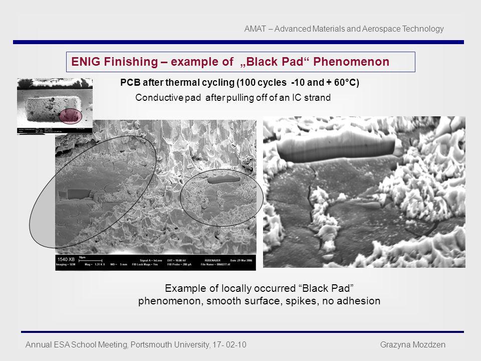 """ENIG Finishing – example of """"Black Pad Phenomenon"""