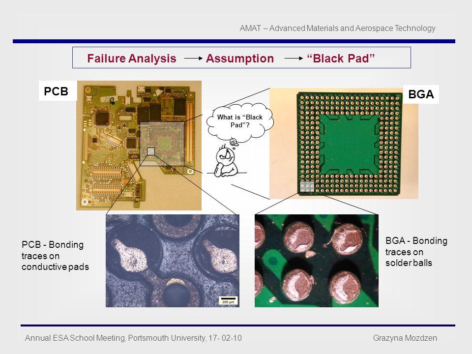 Failure Analysis Assumption Black Pad