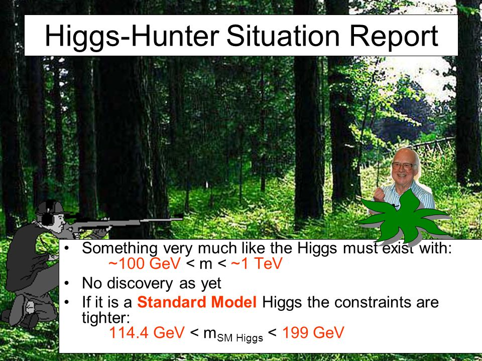 Higgs-Hunter Situation Report