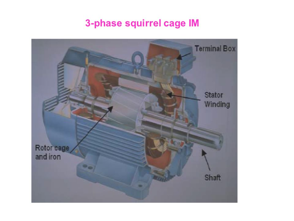 3-phase squirrel cage IM