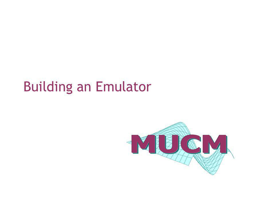 Building an Emulator