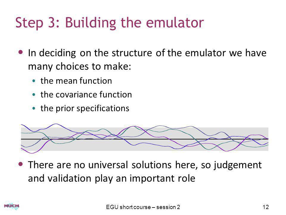 Step 3: Building the emulator