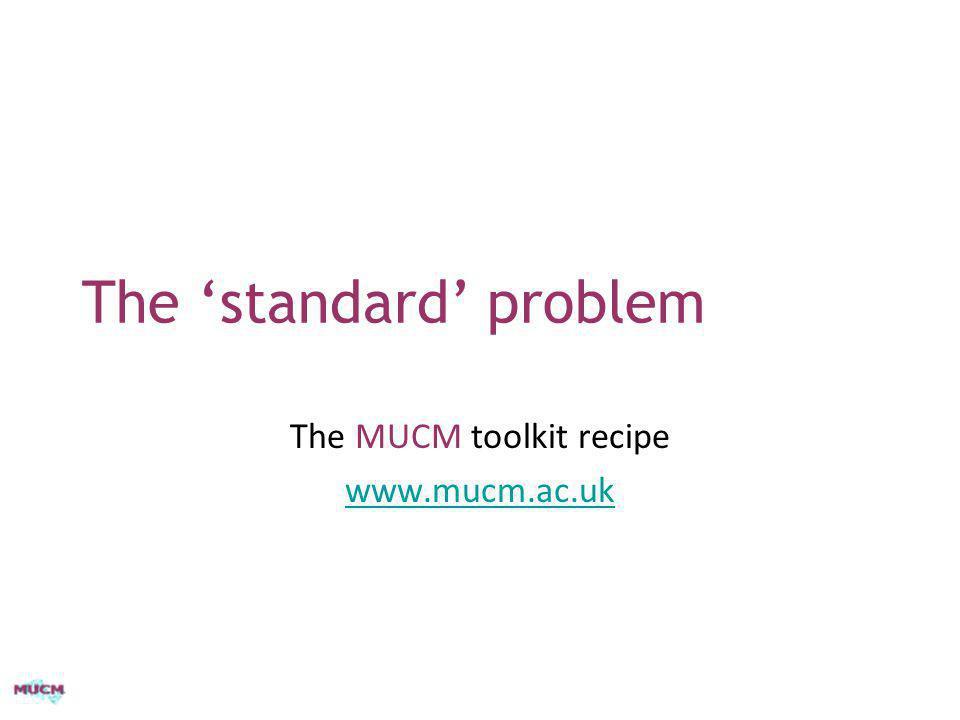 The 'standard' problem