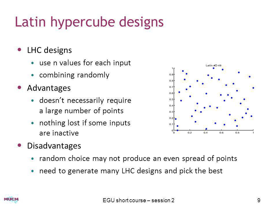 Latin hypercube designs