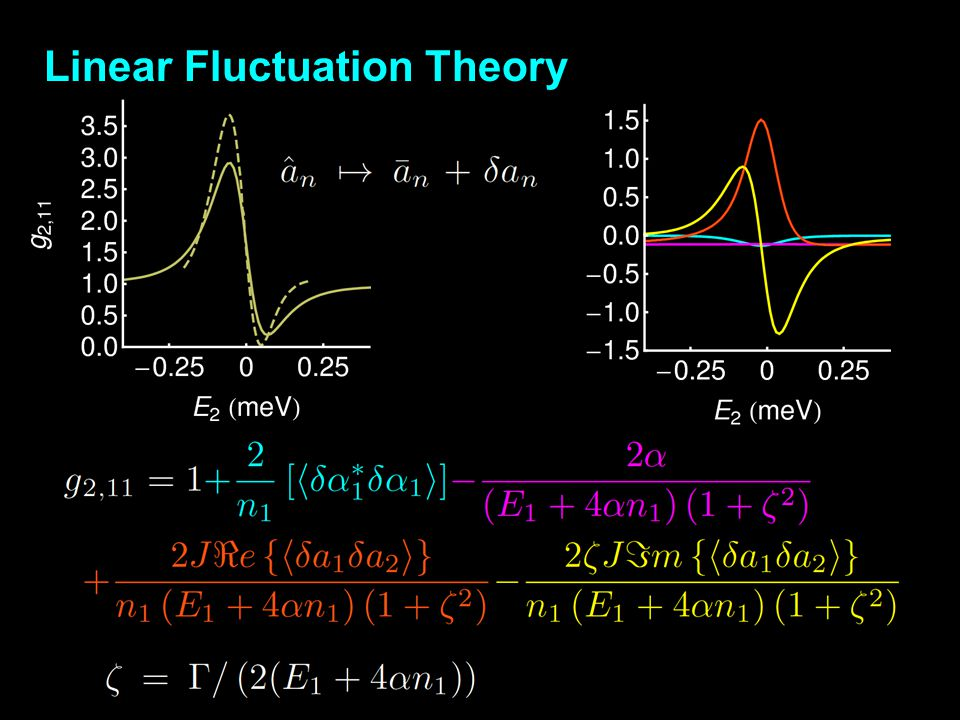 Linear Fluctuation Theory
