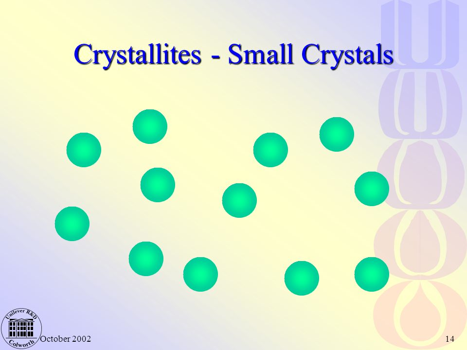 Crystallites - Small Crystals