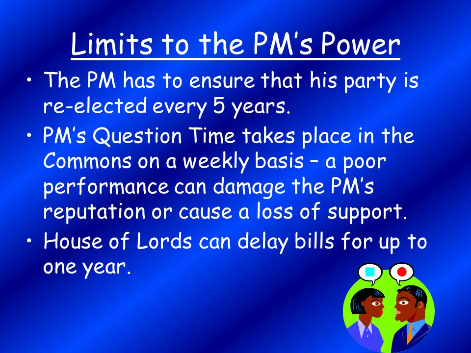Limits to the PM's Power