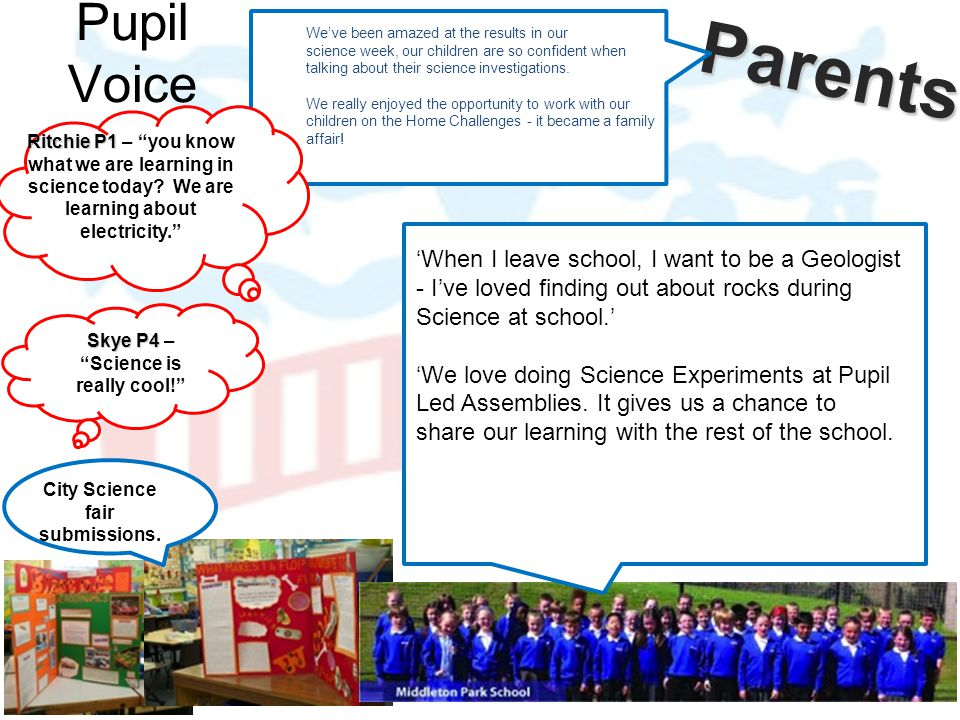 Skye P4 – Science is really cool! City Science fair submissions.
