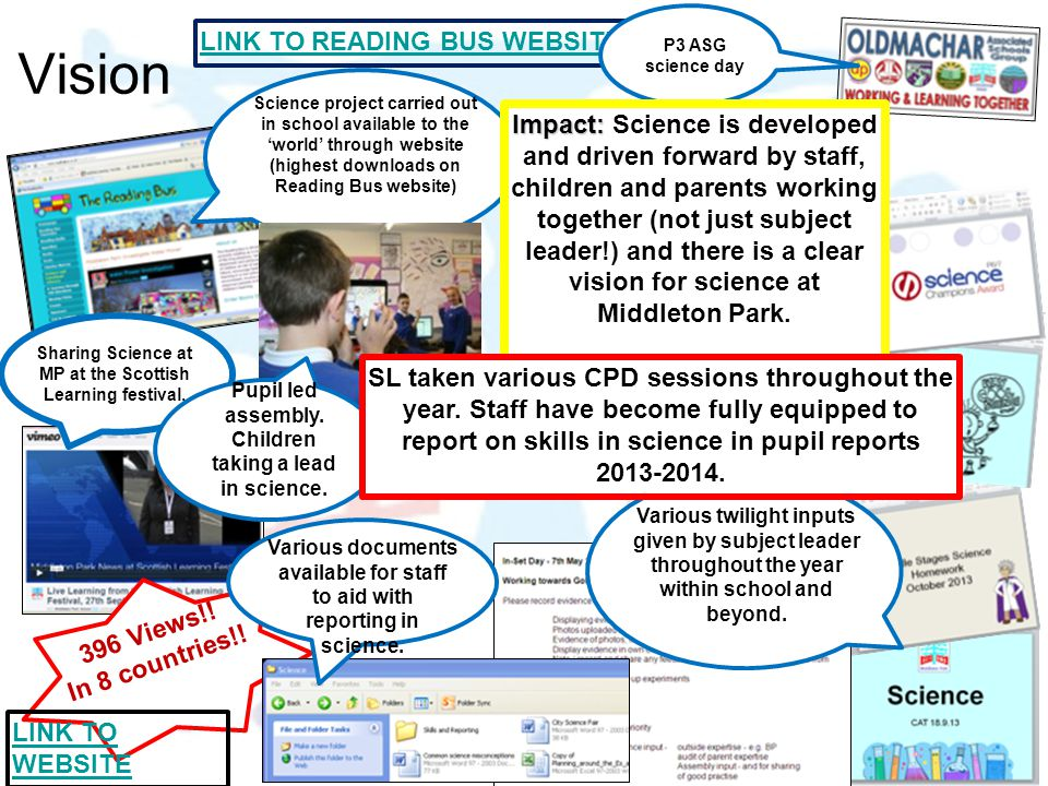 Vision LINK TO READING BUS WEBSITE