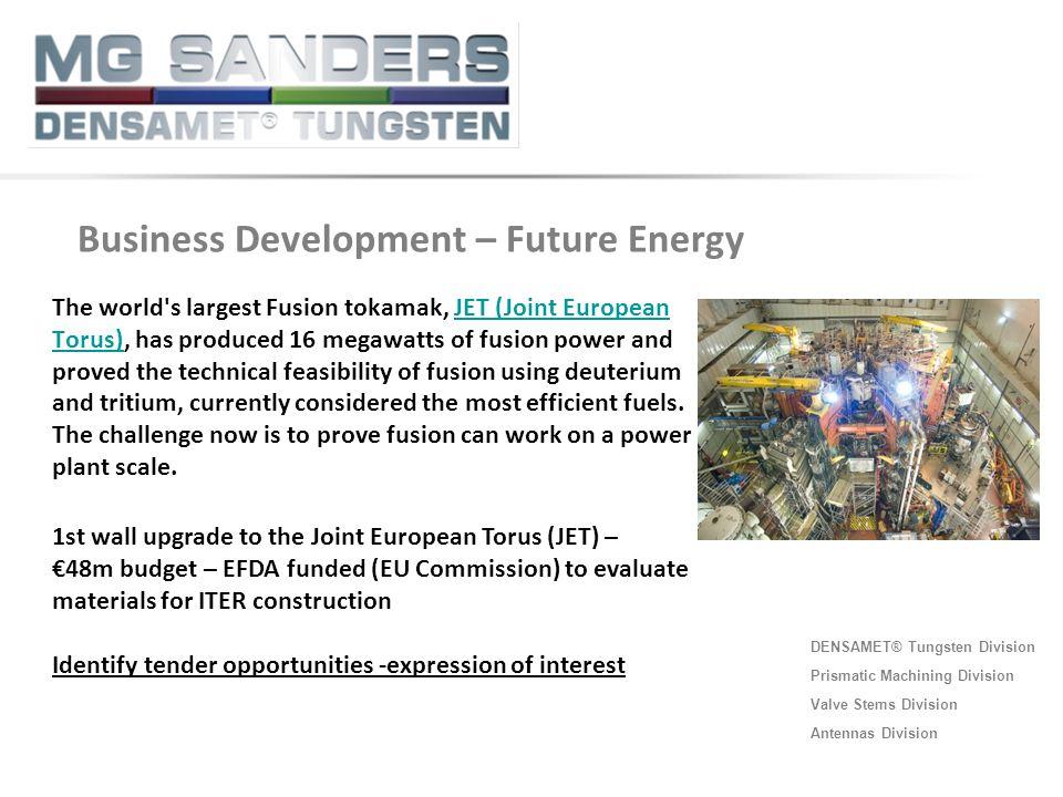 Business Development – Future Energy