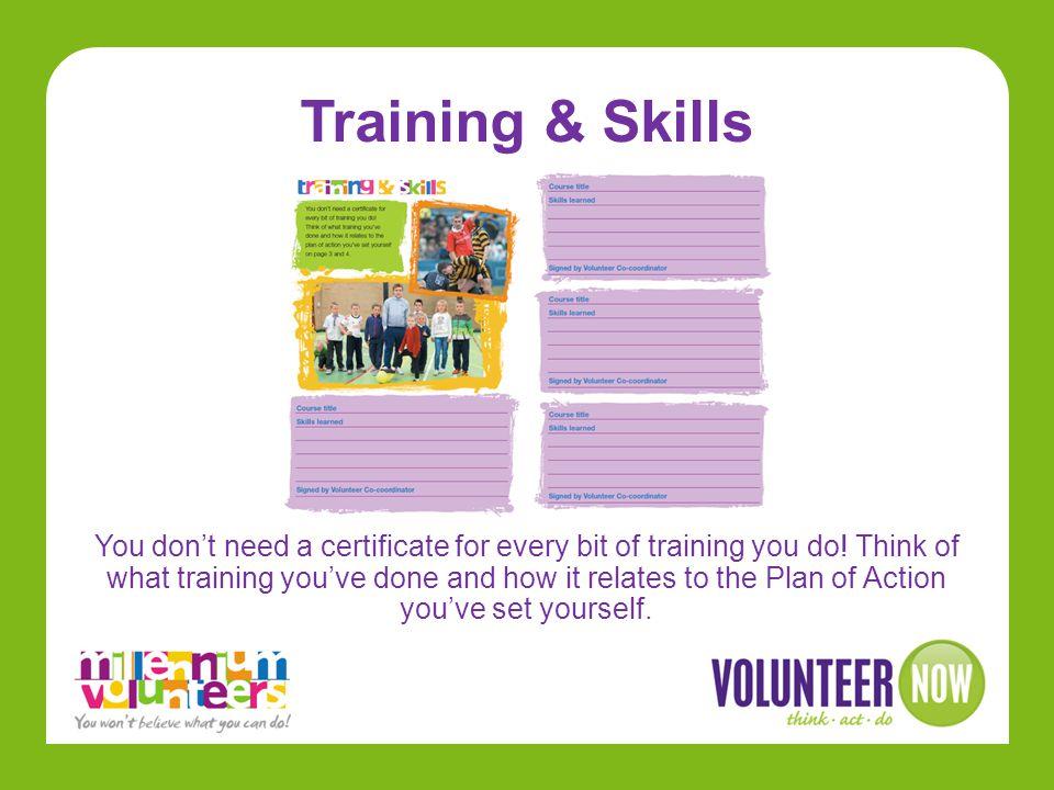 Training & Skills
