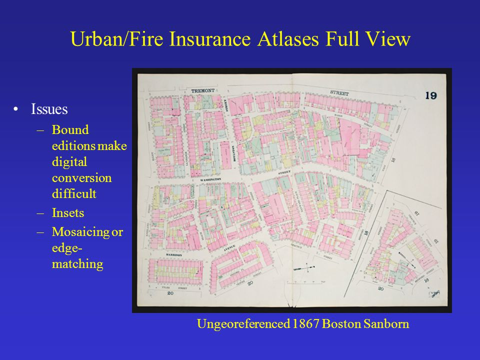Urban/Fire Insurance Atlases Full View
