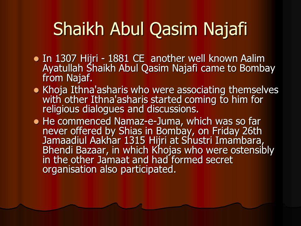 Shaikh Abul Qasim Najafi