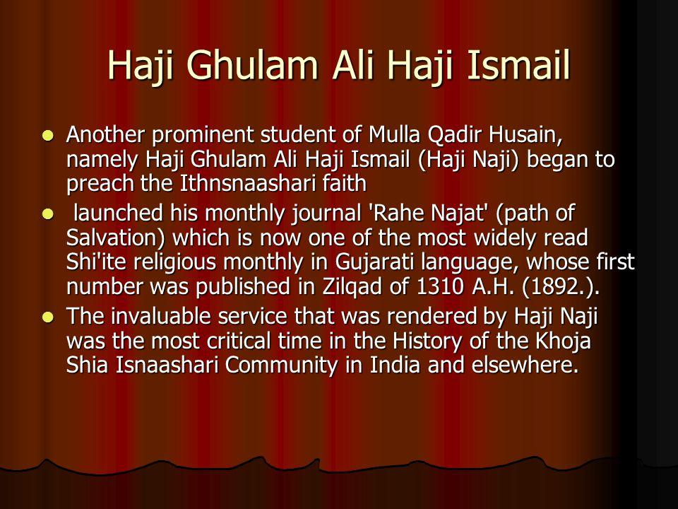 Haji Ghulam Ali Haji Ismail