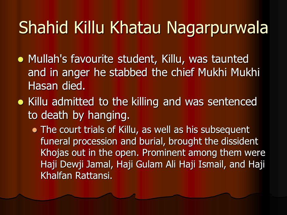 Shahid Killu Khatau Nagarpurwala