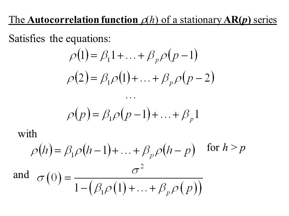 Satisfies the equations: