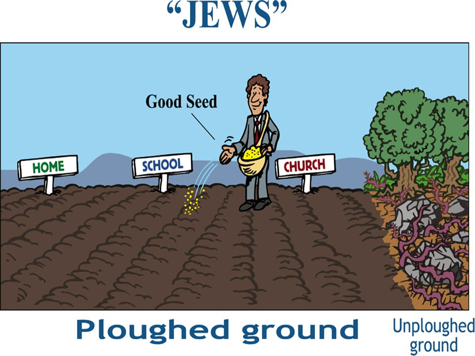 Jews Ploughed ground