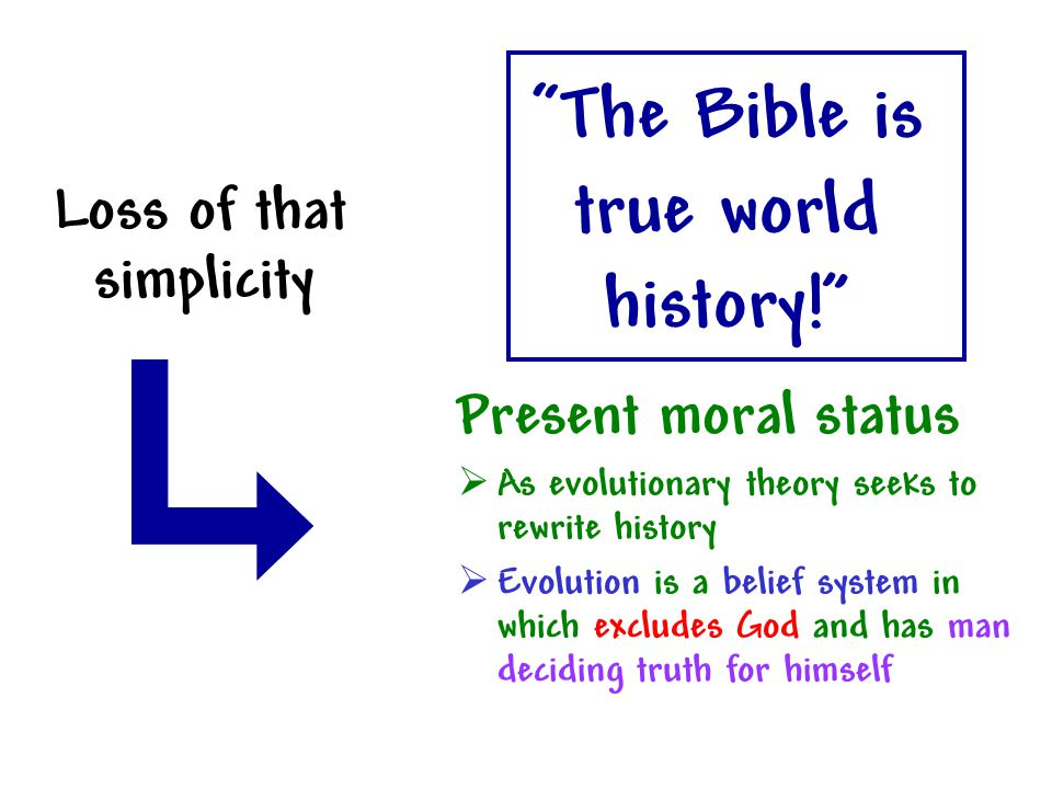 The Bible is true world history!