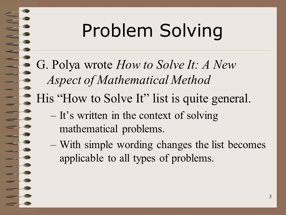 Problem Solving In Accounting