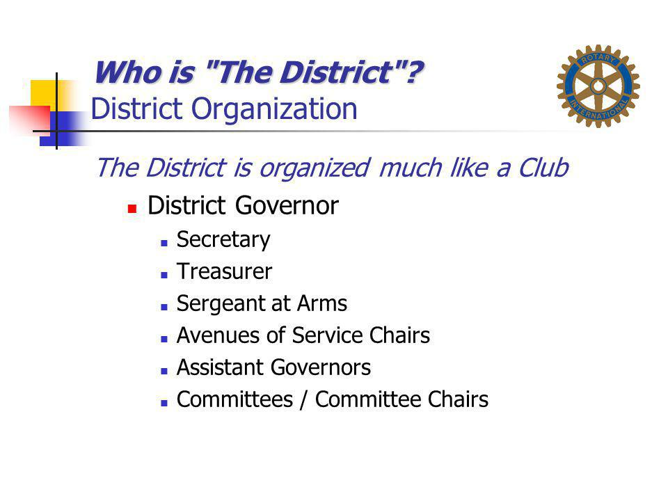 Who is The District District Organization