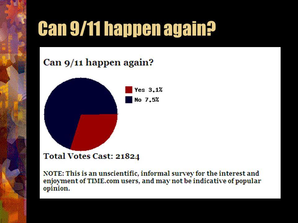 Can 9/11 happen again