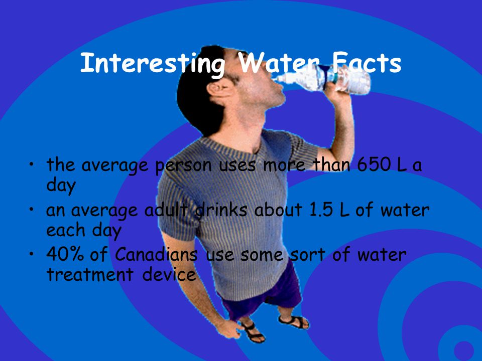 Interesting Water Facts