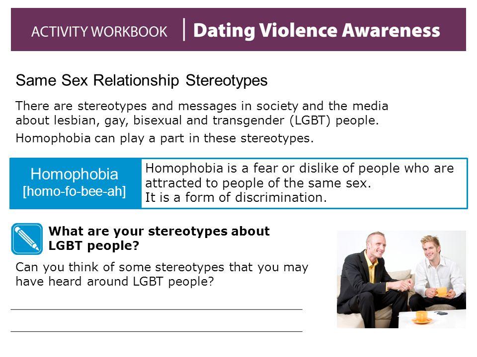 Same Sex Relationship Stereotypes