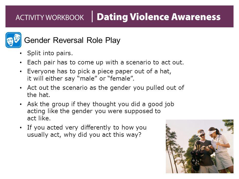 Gender Reversal Role Play