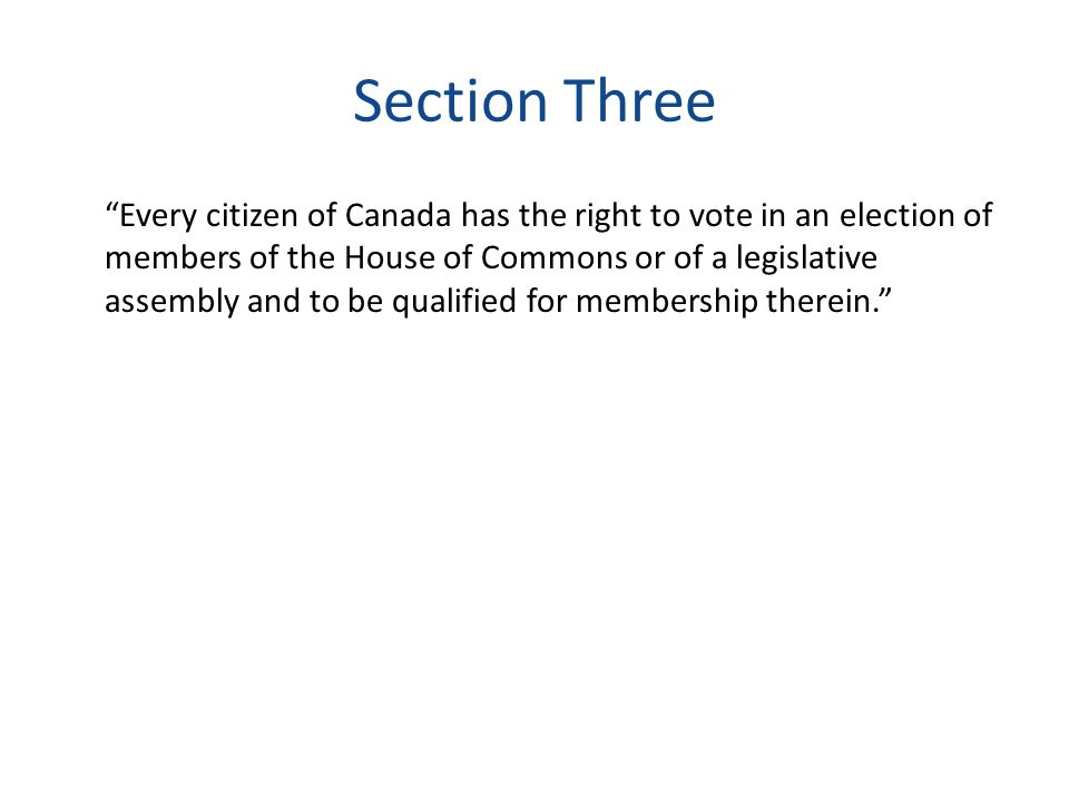 Section Three