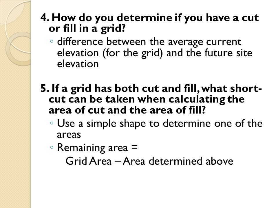 Use a simple shape to determine one of the areas Remaining area =