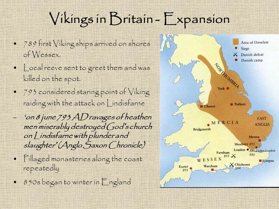 Vikings in Britain - Expansion