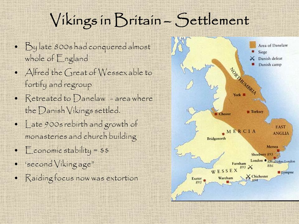 Vikings in Britain – Settlement