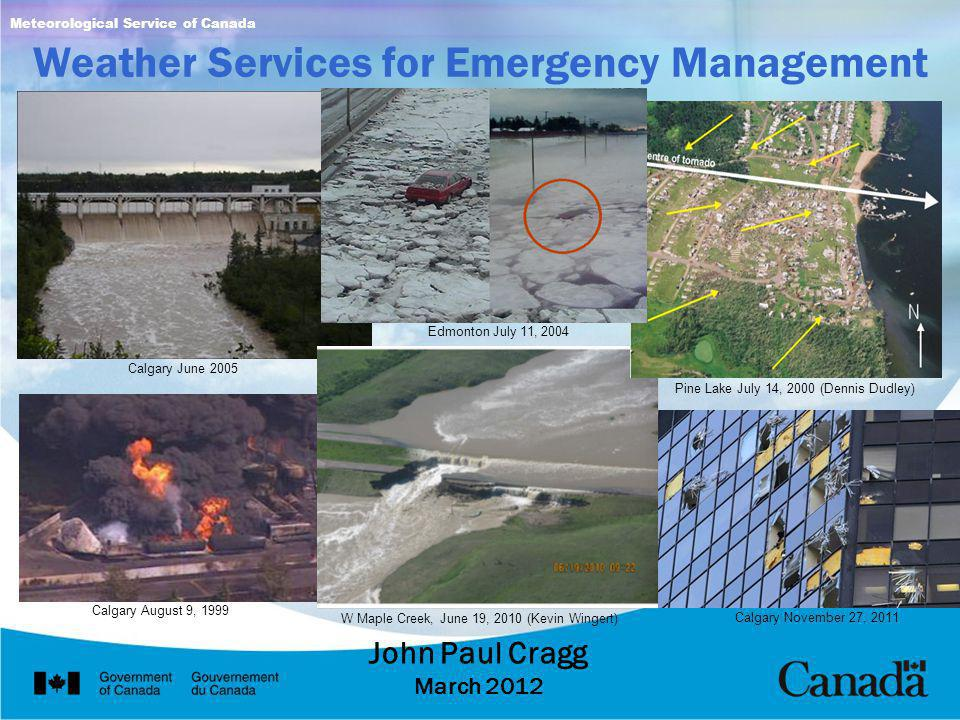 Weather Services for Emergency Management