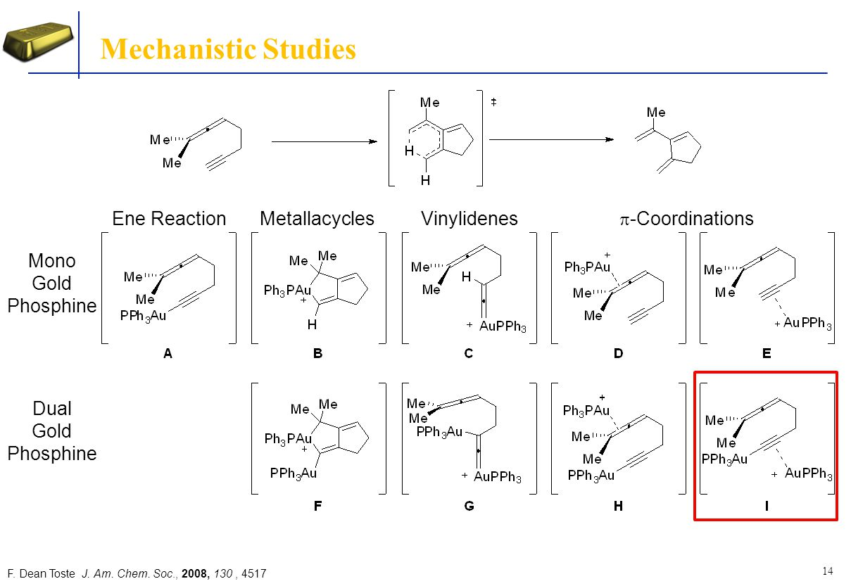 Mechanistic Studies Ene Reaction Metallacycles Vinylidenes