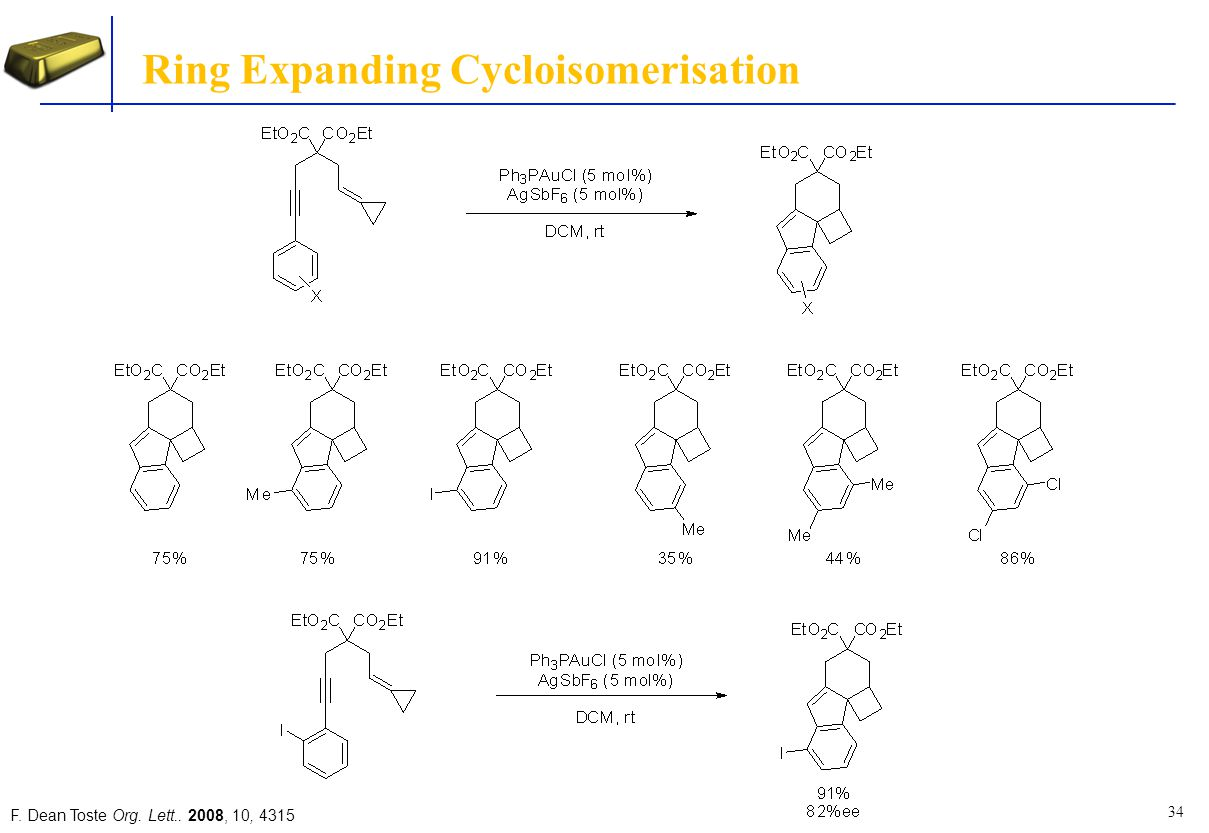 Ring Expanding Cycloisomerisation