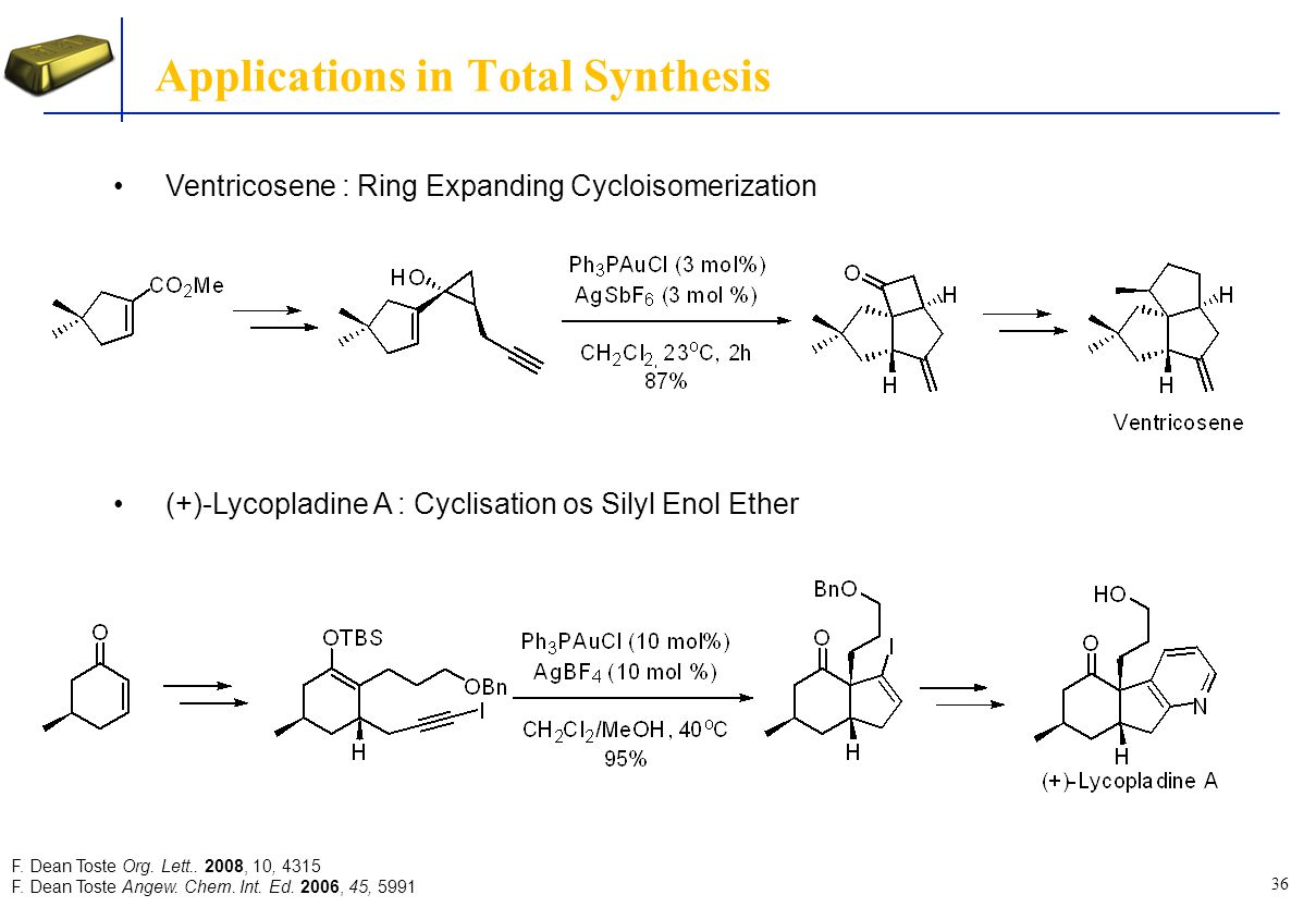 Applications in Total Synthesis