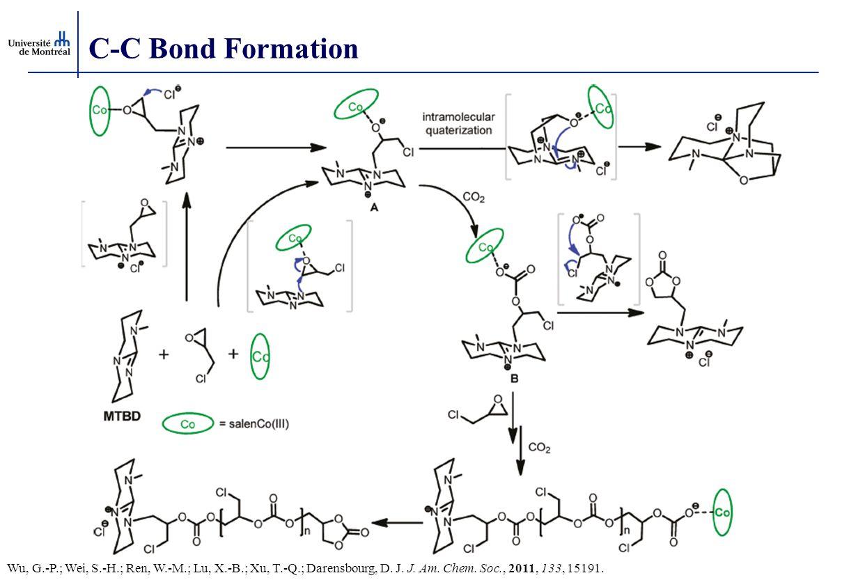 C-C Bond Formation Wu, G.-P.; Wei, S.-H.; Ren, W.-M.; Lu, X.-B.; Xu, T.-Q.; Darensbourg, D.