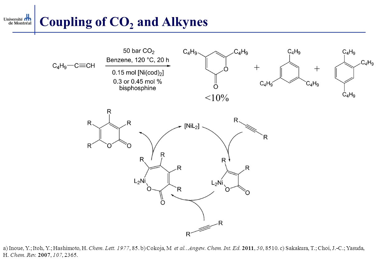 Coupling of CO2 and Alkynes