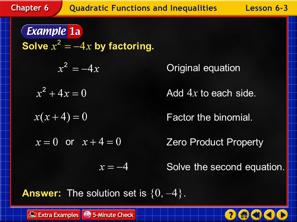 Solve the second equation.