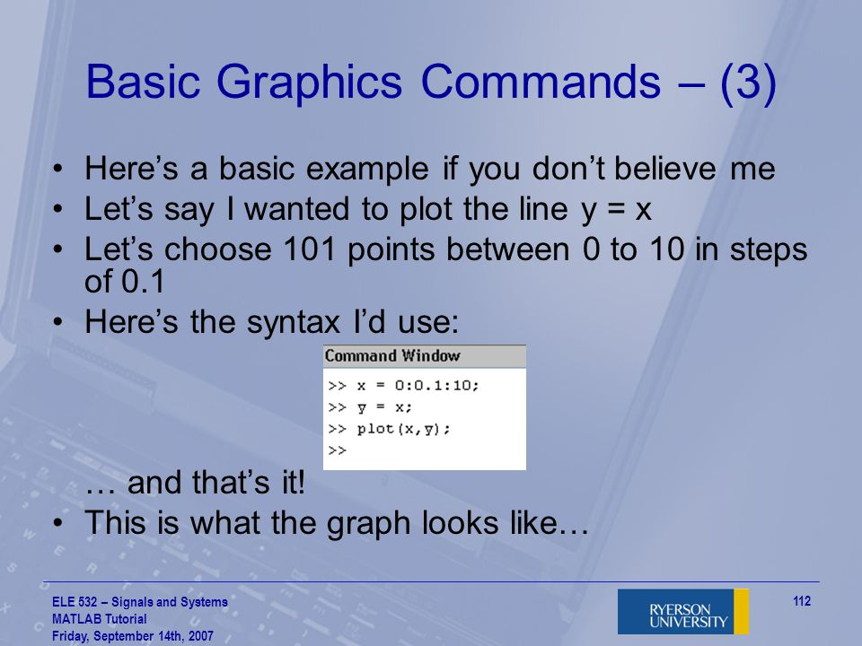 Basic Graphics Commands – (3)
