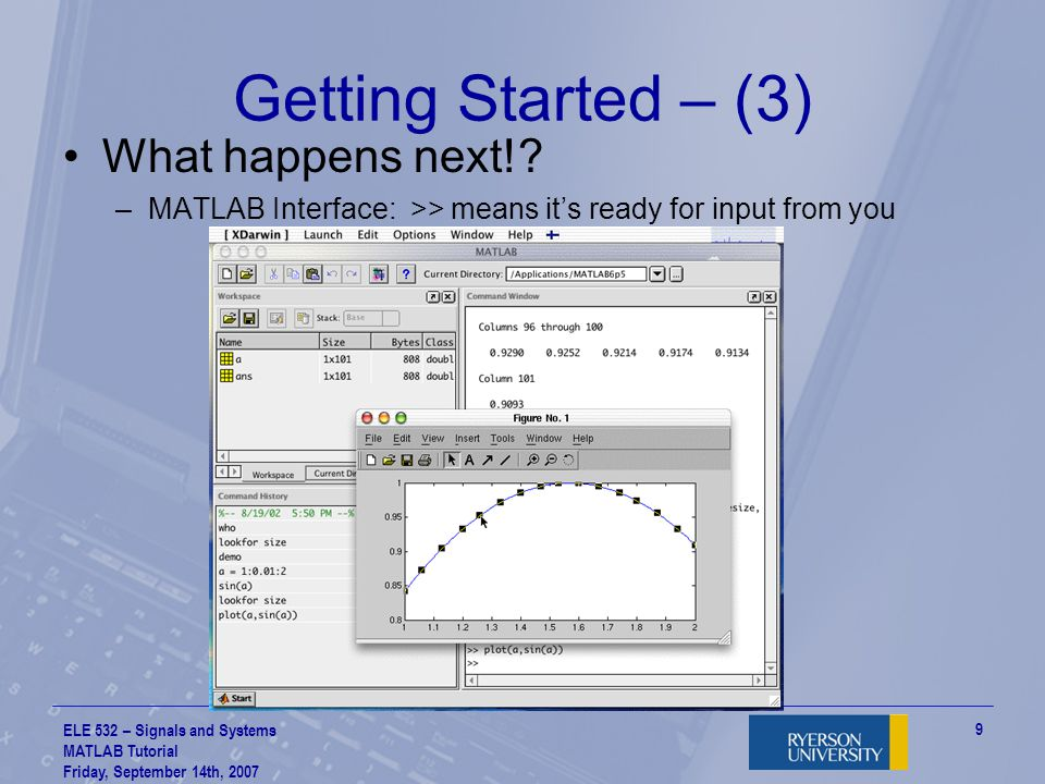 Getting Started – (3) What happens next!