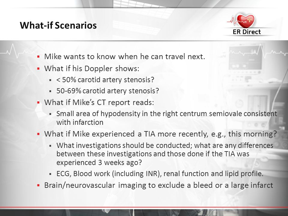 What-if Scenarios Mike wants to know when he can travel next.