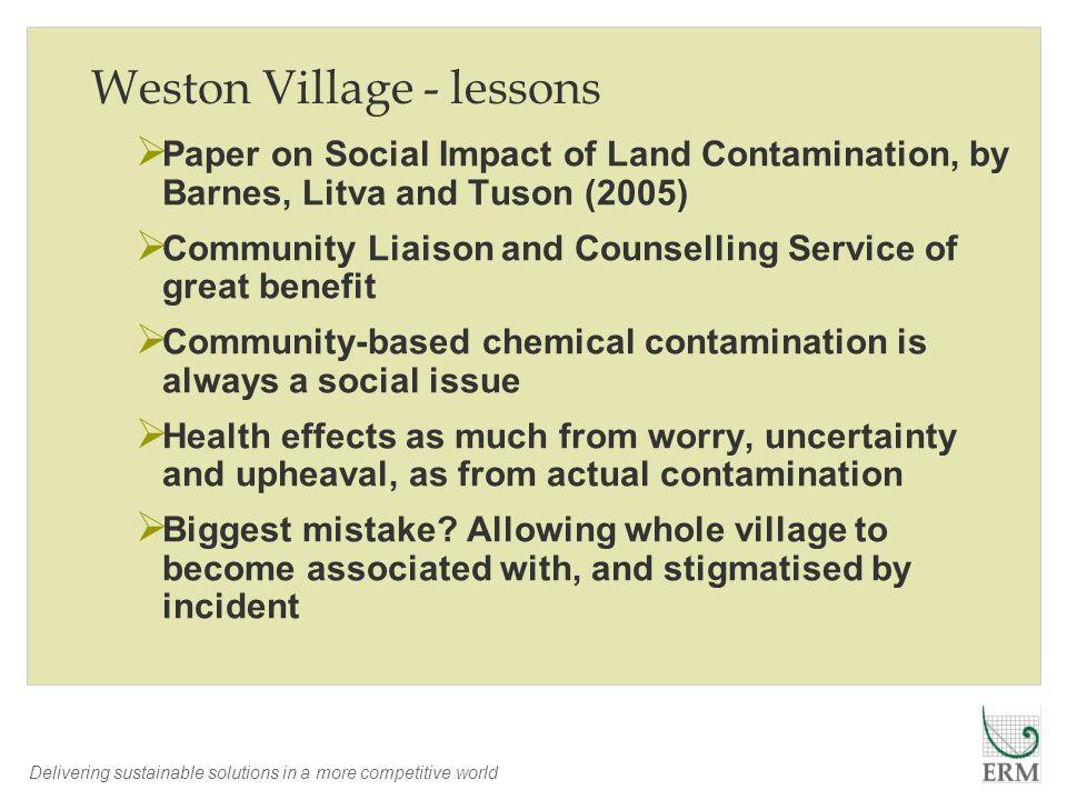 Weston Village - lessons